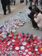 Antique Ceramic Market, Jingdezhen