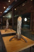 Two of my works in the Canadian Museum – Fuping Uprooted Tree #1 and Fuping Uprooted Tree #2, 2007