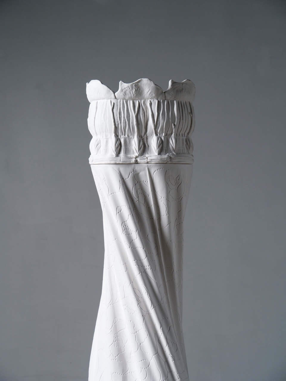 Host from Arbor Vitae, 2015, porcelain, 270 × 50 × 50 cm