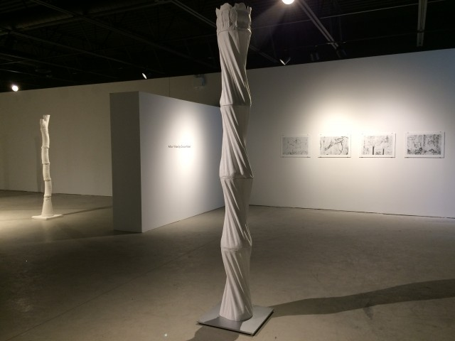 Arbor Vitae, installation at Actual Contemporary 2016