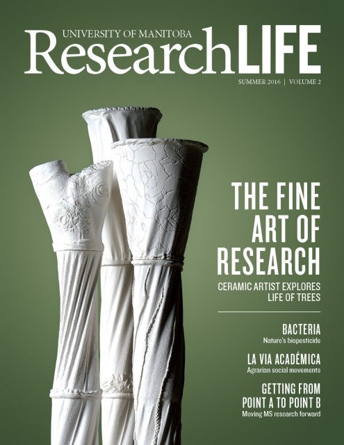 Cover of ResearchLIFE (summer 2016)